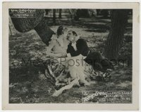 8g040 TEMPTRESS English FOH LC 1926 great romantic close up of Greta Garbo & Antonio Moreno!