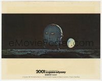 8g030 2001: A SPACE ODYSSEY Cinerama color English FOH LC 1968 cool image of pod landing on moon!
