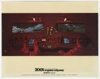 8g031 2001: A SPACE ODYSSEY Cinerama color English FOH LC 1968 pilots bringing Sylvester to moon!