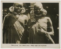 8g041 WILD MEN OF KALIHARI English FOH LC 1930 close up of South African natives, documentary!