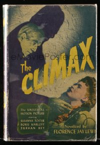 8h011 CLIMAX Books Inc. movie edition hardcover book 1946 novelized version of the Universal movie!