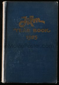 8h070 FILM DAILY YEARBOOK OF MOTION PICTURES hardcover book 1925 filled with movie information