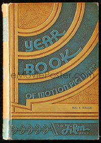 8h077 FILM DAILY YEARBOOK OF MOTION PICTURES hardcover book 1935 Hal Wallis' personal copy!