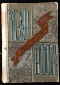 8h080 FILM DAILY YEARBOOK OF MOTION PICTURES hardcover book 1938 filled with movie information!