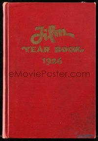 8h071 FILM DAILY YEARBOOK OF MOTION PICTURES hardcover book 1926 loaded with movie information!