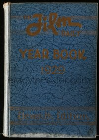 8h072 FILM DAILY YEARBOOK OF MOTION PICTURES hardcover book 1929 filled with movie information!
