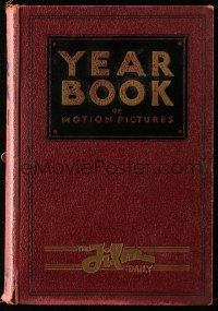 8h073 FILM DAILY YEARBOOK OF MOTION PICTURES hardcover book 1931 filled with movie information!