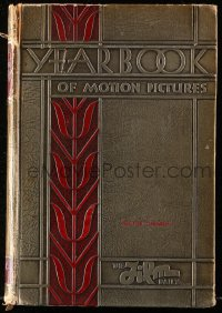 8h074 FILM DAILY YEARBOOK OF MOTION PICTURES hardcover book 1932 Hector Turnbull's copy!