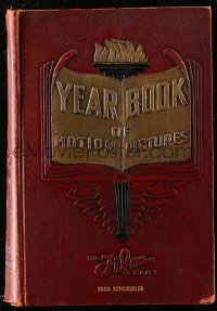 8h075 FILM DAILY YEARBOOK OF MOTION PICTURES hardcover book 1933 Fred Schuessler's copy!