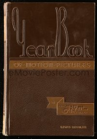 8h078 FILM DAILY YEARBOOK OF MOTION PICTURES hardcover book 1936 Lewis Gensler's copy!