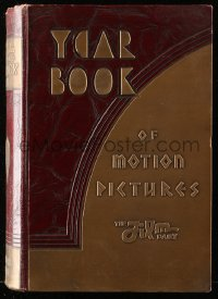 8h079 FILM DAILY YEARBOOK OF MOTION PICTURES hardcover book 1937 filled with movie information!