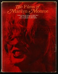 8h054 FILMS OF MARILYN MONROE hardcover book 1964 an illustrated biography of the movie legend!