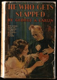 8h014 HE WHO GETS SLAPPED Grosset & Dunlap movie edition hardcover book 1925 Lon Chaney, Sjostrom