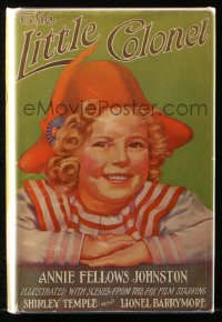 8h017 LITTLE COLONEL movie edition hardcover book 1935 w/scenes from Shirley Temple's movie!