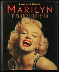 8h059 MARILYN AT TWENTIETH CENTURY FOX hardcover book 1987 filled with sexy images!