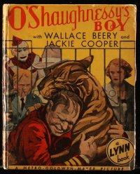 8h026 O'SHAUGHNESSY'S BOY Lynn Publishing movie edition hardcover book 1935 Wallace Beery, Cooper