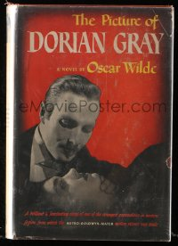 8h027 PICTURE OF DORIAN GRAY movie edition hardcover book 1945 the Oscar Wilde story!