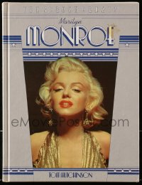 8h062 SCREEN GREATS: MARILYN MONROE hardcover book 1982 an illustrated biography with color photos!