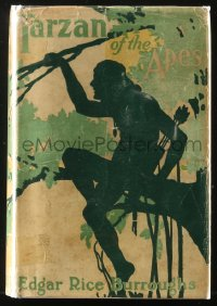 8h036 TARZAN A.L. Burt hardcover book 1914 Edgar Rice Burroughs, Tarzan of the Apes!