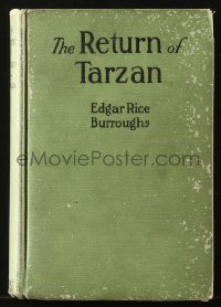 8h037 TARZAN A.L. Burt hardcover book 1915 Edgar Rice Burroughs, The Return of Tarzan