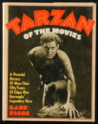 8h045 TARZAN OF THE MOVIES hardcover book 1968 a pictorial history of 50 years!