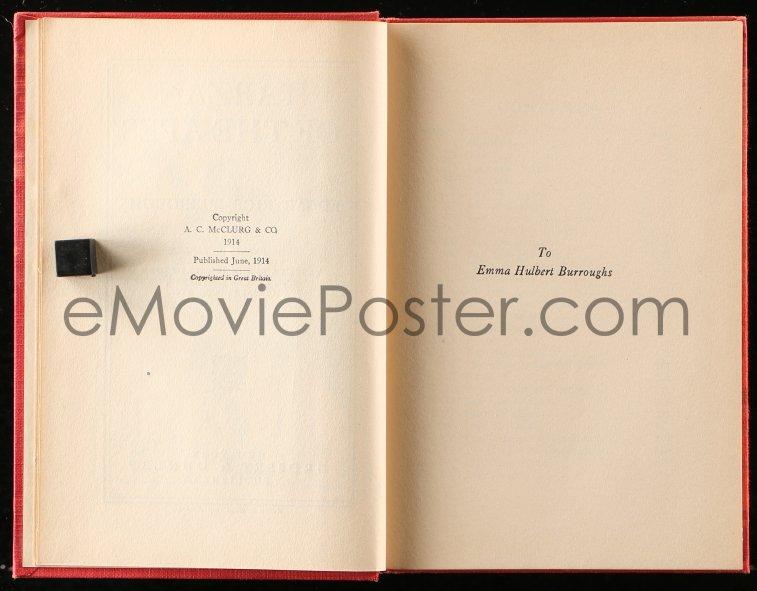 eMoviePoster com: 8h041 TARZAN Grosset & Dunlap hardcover book 1910s