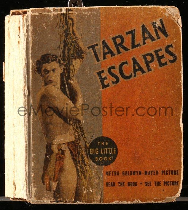eMoviePoster com: 8h046 TARZAN ESCAPES Big Little Book