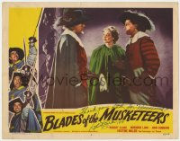 8p036 BLADES OF THE MUSKETEERS signed LC #2 1953 by Robert Clarke, who is D'Artagnan, Boetticher!