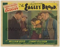 8p044 EAGLE'S BROOD signed LC R1946 by Lois January, who isn't in the movie!
