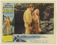 8p053 MARA OF THE WILDERNESS signed LC #4 1965 by Adam West, who's w/sexy wolf-girl Lori Saunders!