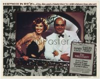 8p068 WILD PARTY signed LC #5 1975 by Raquel Welch, who's in the Roaring Twenties with James Coco!
