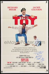 8p012 TOY signed 1sh 1982 by Scott Schwartz, real life movie poster collector who played Eric Bates!