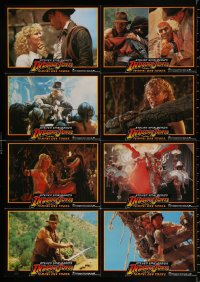 8r066 INDIANA JONES & THE TEMPLE OF DOOM #1 German LC poster 1984 adventure is his name, different!