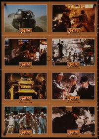 8r074 RAIDERS OF THE LOST ARK #3 German LC poster 1981 different images of Harrison Ford & Allen!