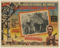 8r012 BRIDGE ON THE RIVER KWAI Mexican LC 1963 Holden, Alec Guinness, David Lean WWII classic!