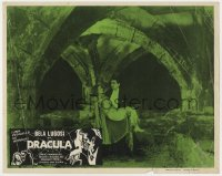 8r013 DRACULA Mexican LC R1960s different image of Bela Lugosi with Helen Chandler, Tod Browning!