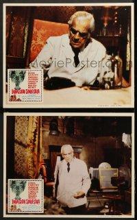8r016 INCREDIBLE INVASION 2 Mexican LCs 1971 different close-up images of creepy Boris Karloff!