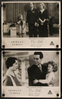 8r002 POOR LITTLE RICH GIRL 3 Aust LCs R1950s Shirley Temple, Alice Faye & Jack Haley, different!