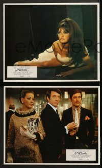 8r049 ANYONE CAN PLAY 8 style B French LCs 1968 Ursula Andress, Virna Lisi, Claudine Auger & Mell!