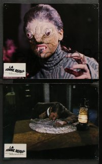 8r063 REPTILE 12 French LCs 1966 Hammer snake woman, Noel Willman, completely different horror!