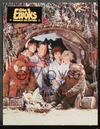8r011 CARAVAN OF COURAGE 18 German LCs 1985 An Ewok Adventure, Star Wars, completely different!