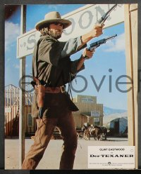 8r010 OUTLAW JOSEY WALES 16 German LCs 1976 Clint Eastwood on horseback, Sandra Locke, different!