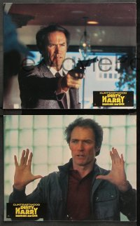 8r007 SUDDEN IMPACT 12 German LCs 1983 Clint Eastwood is at it again as Dirty Harry, different!