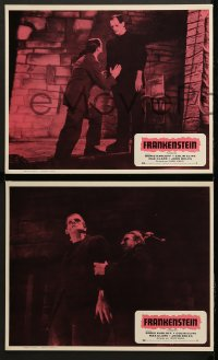 8r020 FRANKENSTEIN 8 Mexican LCs R1970s great images of Boris Karloff as the monster!