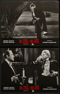 8r028 DR. JEKYLL & MR. HYDE 12 Spanish LCs R1990s completely different images of Fredric March!