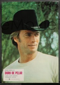8r029 EVERY WHICH WAY BUT LOOSE 12 Spanish LCs 1979 Clint Eastwood & Clyde the orangutan, different!