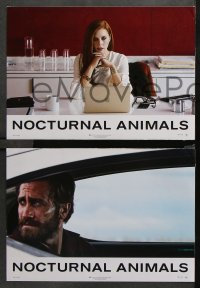 8r034 NOCTURNAL ANIMALS 4 Swiss LCs 2016 completely different image of Amy Adams, Jake Gyllenhaal!