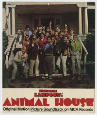 8s038 ANIMAL HOUSE INCOMPLETE soundtrack mobile 1978 top cast giving the finger, ultra rare!