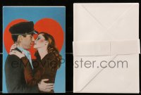 8s059 HUMPHREY BOGART group of 12 5x7 greeting cards with envelopes 1970s with Lauren Bacall!