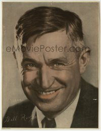 8s030 WILL ROGERS 8x10 picture frame photo 1935 head & shoulders portrait with facsimile signature!